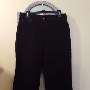 Style & Co Pants - Style and Co black corduroy pants